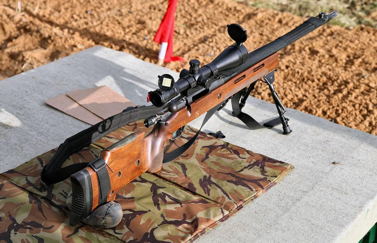 Снайперская винтовка tei m89 sr