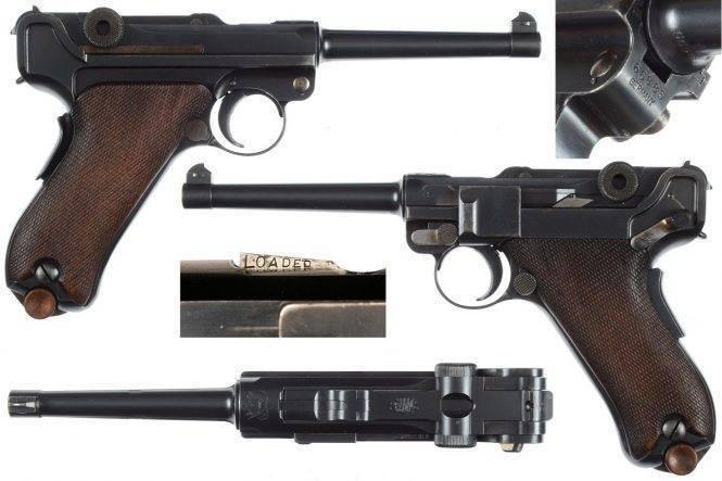 Пистолет luger m1906