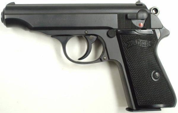 Пистолет вальтер пп / ппк. ттх. фото. видео. размеры. скорострельность. скорость пули. прицельная дальность. вес