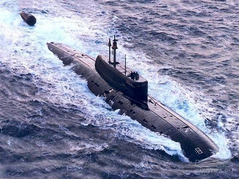 Подводные лодки проекта 945 википедия