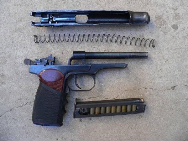 Травматический пистолет МР-355 Стечкин