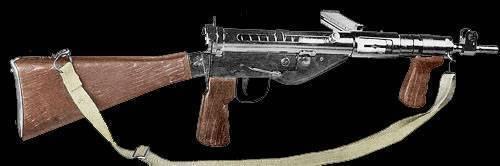 Sten mk 2 ттх. фото. видео. калибр. прицельная дальность. скорострельность. патрон. скорость пули