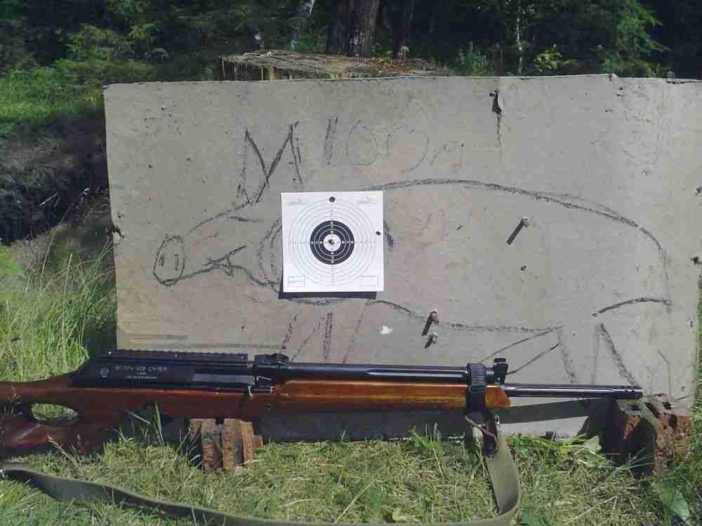 Способы пристрелки нарезного оружия с открытым и оптическим прицелом