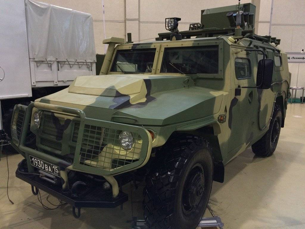Автомобиль тигр: особенности военной и гражданской версий