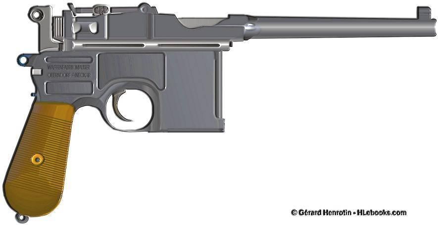 Mauser c-96 – ужасное оружие революций