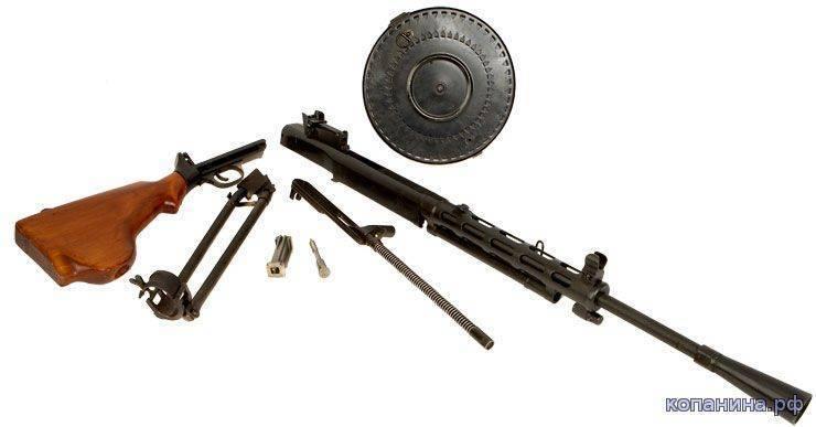 Ручной пулемёт дегтярёва — википедия. что такое ручной пулемёт дегтярёва