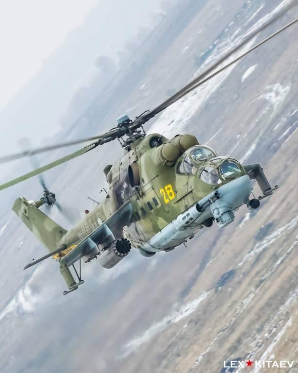 Боевой вертолет ми-24