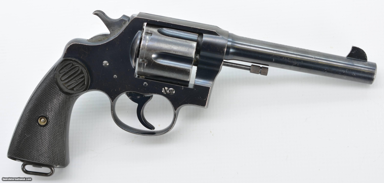 Colt revolvers new service