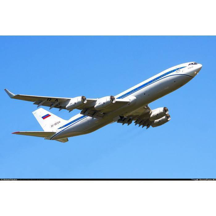 Широкофюзеляжный самолёт ил 96