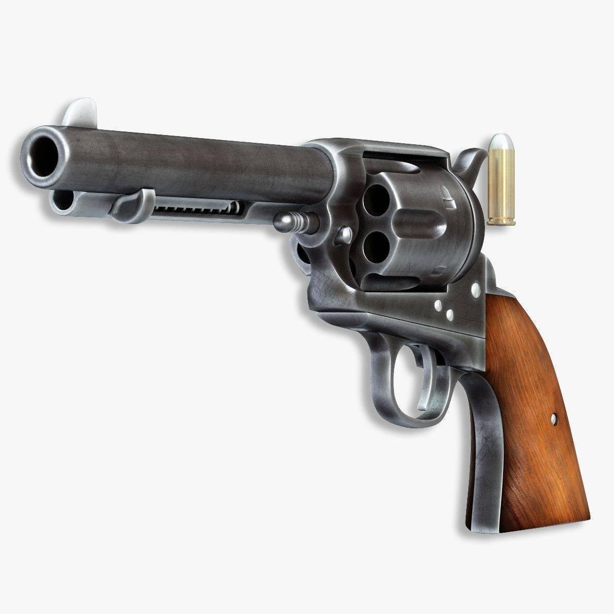 Кольт и его револьверы: от «патерсона» до «миротворца»