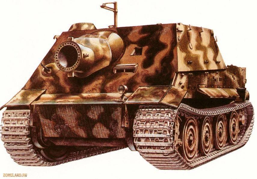 8,8 cm pak 43 jagdtiger - описание, как играть, ттх, советы для пт сау 8,8 cm pak 43 jagdtiger из игры мир танков на веб-ресурсе wiki.wargaming.net