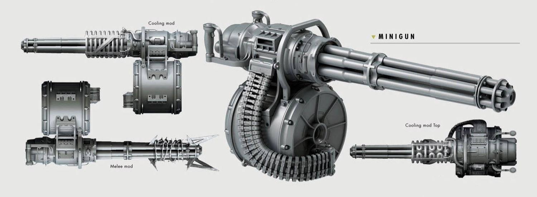 Пулемет системы гатлинга. карусель смерти: пулемет гатлинга (12 фото)