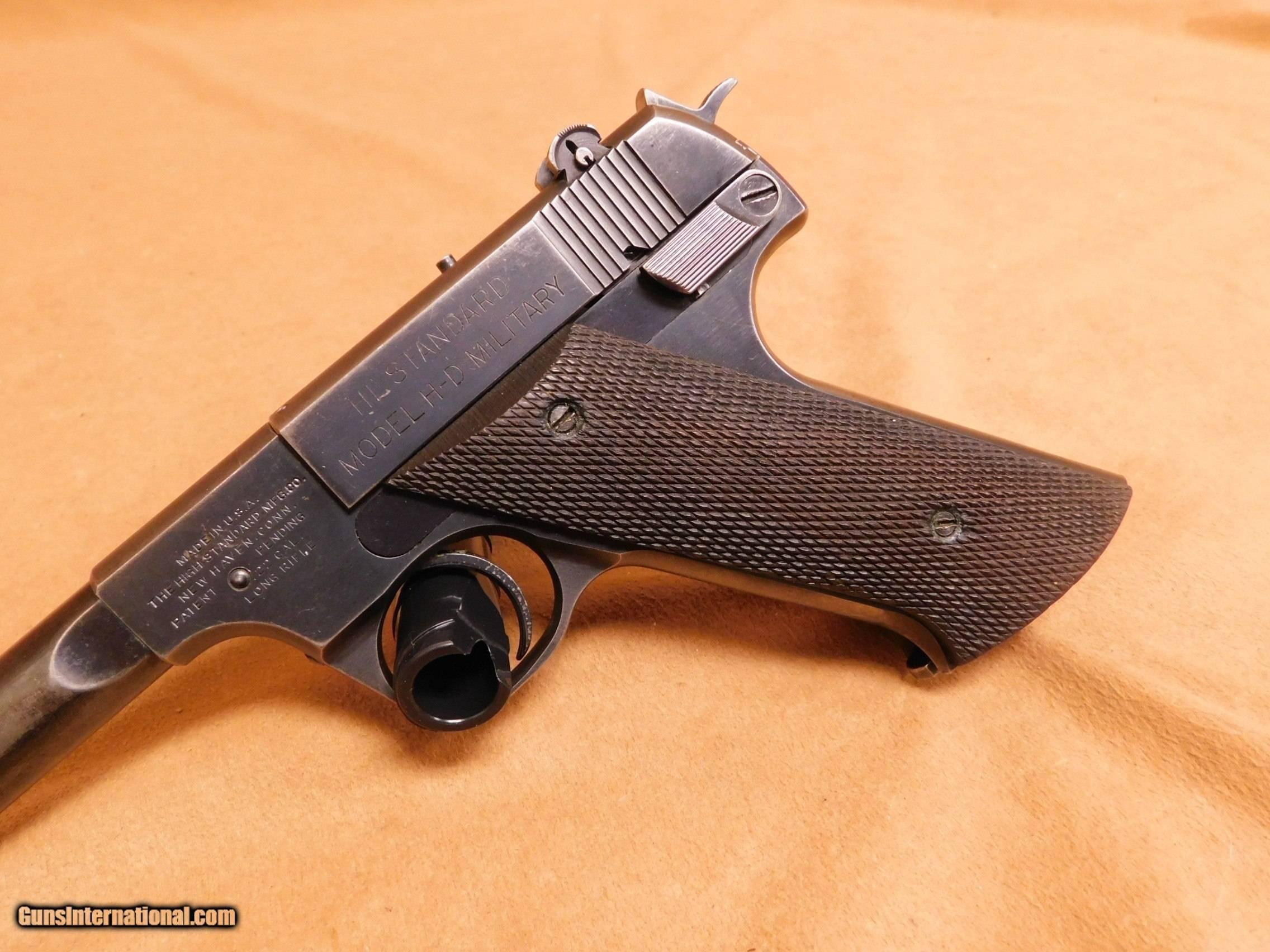 Пистолет High Standard Model H-D Military