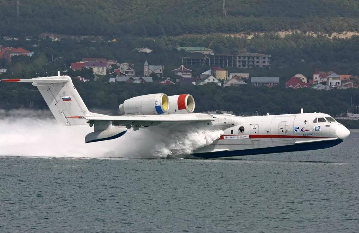 Бе-200, самолет-амфибия