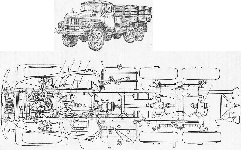Автомобиль зил-133 гя