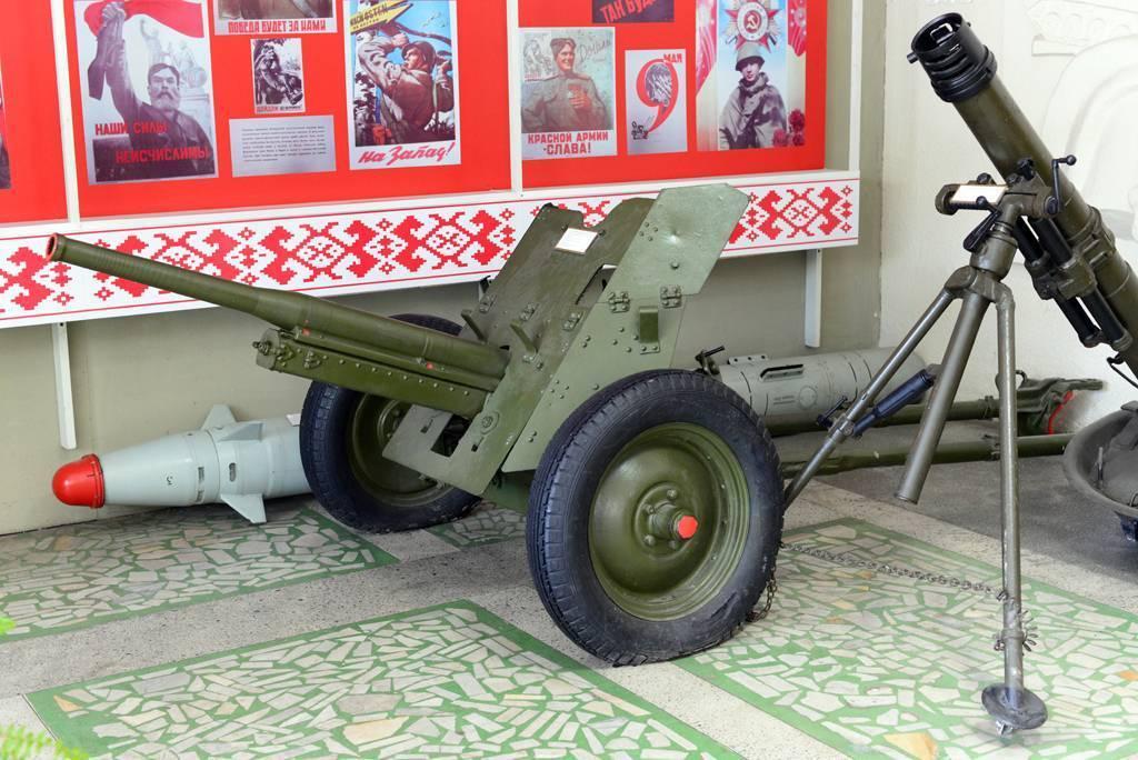 45-мм противотанковая пушка образца 1942 года (м-42)