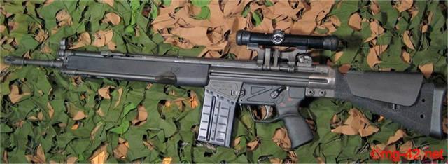 Снайперская винтовка Heckler und Koch MSG90A1