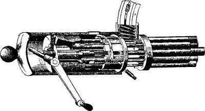 Карусель смерти: пулемет гатлинга