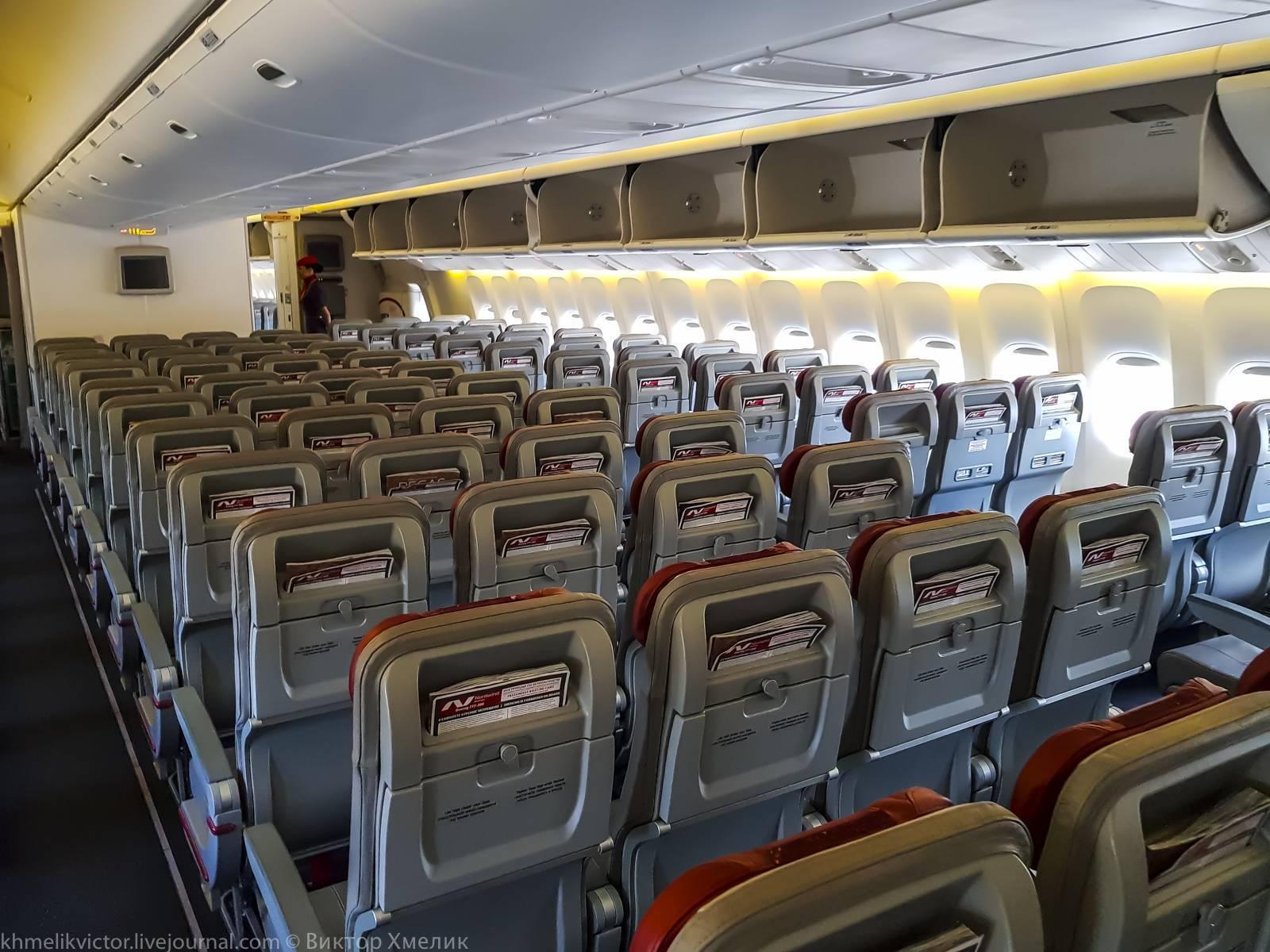 Боинг 777-200 норд винд — схема салона и лучшие места