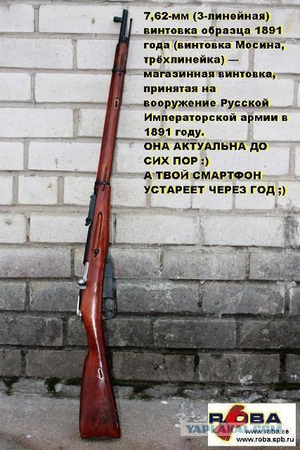 Бессмертная «трехлинейка». история легендарной винтовки мосина   42.tut.by