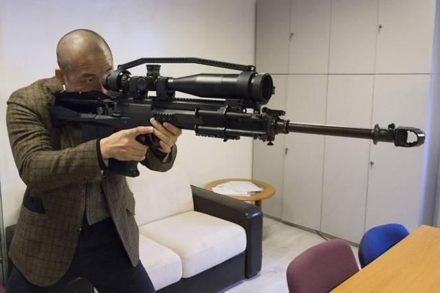 Sero gepard gm6 lynx снайперская винтовка — характеристики, фото, ттх