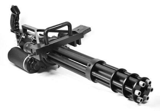 Пулемет гатлинга чертежи. самое грозное многоствольное оружие россии и сша
