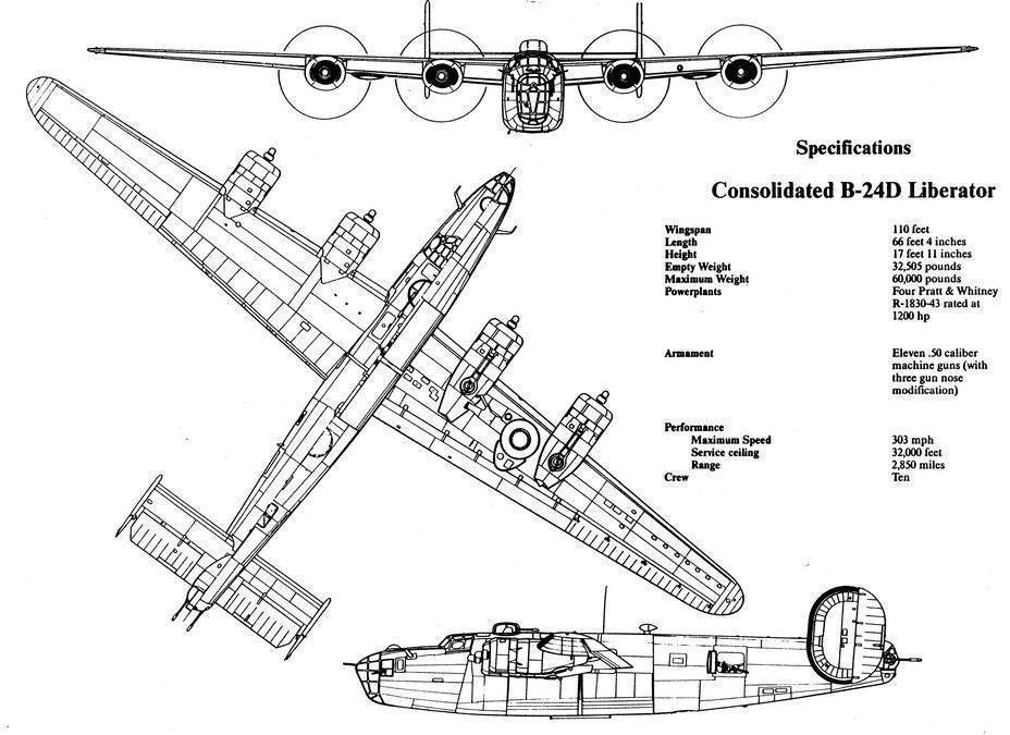 Consolidated b-24 liberator — википедия. что такое consolidated b-24 liberator