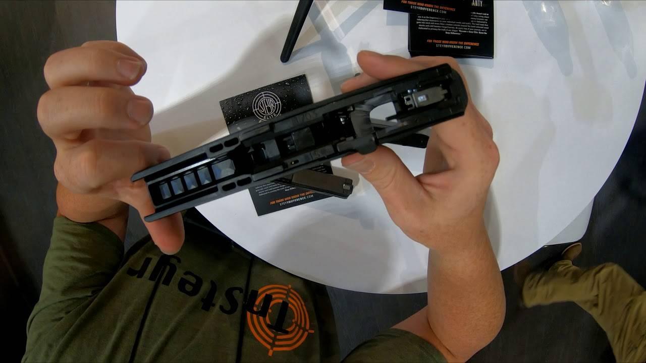 Пистолет steyr l-a1