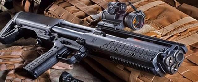 Компактное и мощное ружьё kel-tec ksg