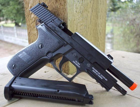 SIG Sauer P226: история появления