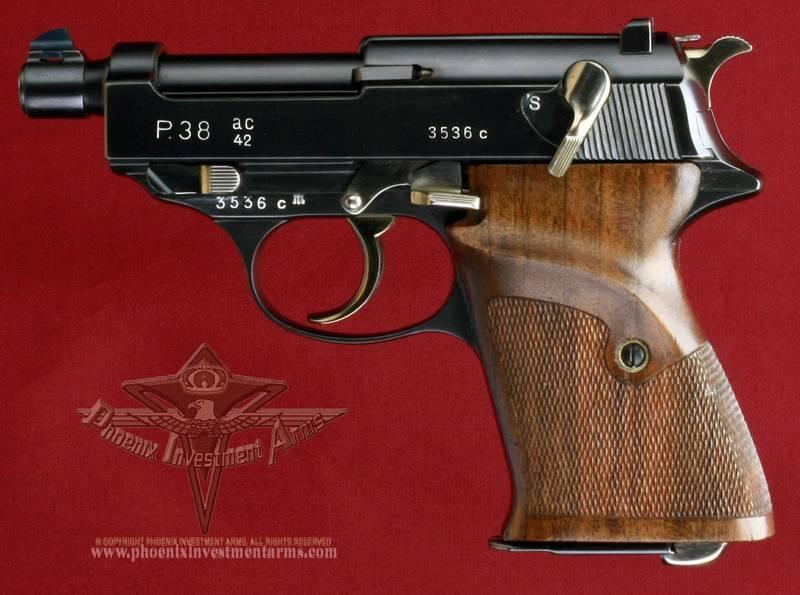 Новый пистолет «вальтер» для джеймса бонда
