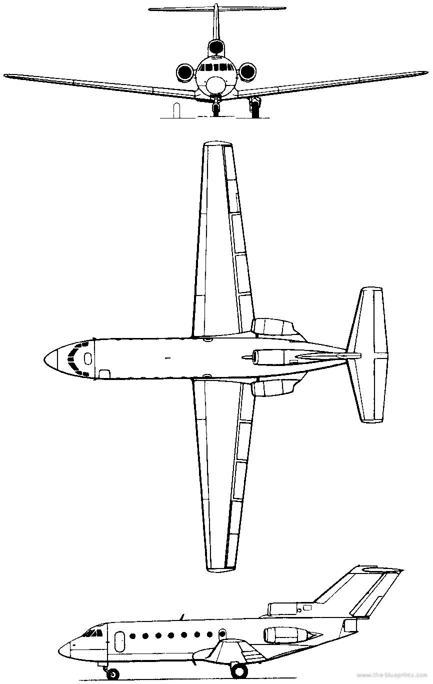 Технические характеристики самолета як-40