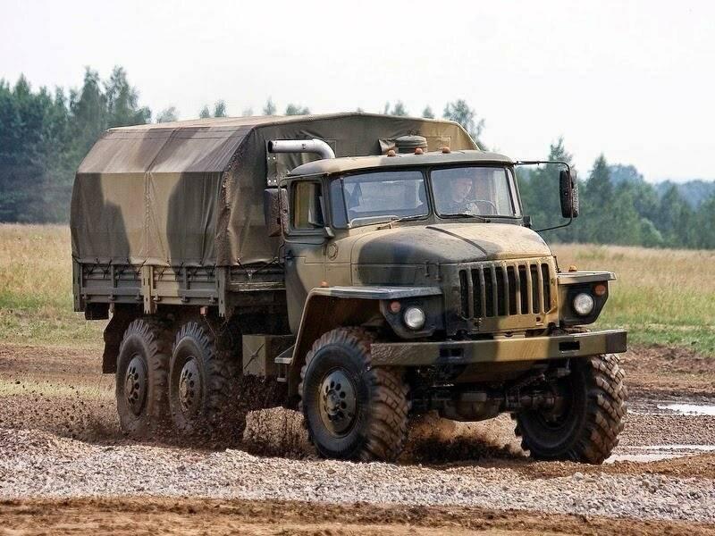 Урал 43206 - самый легкий в семействе внедорожных уралов 4320