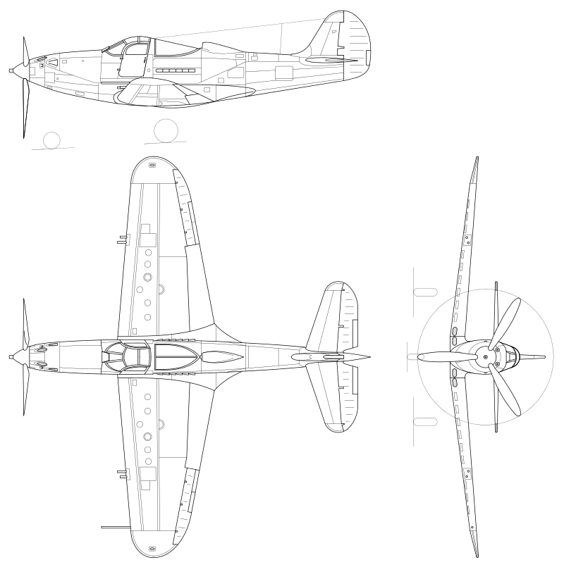 Bell p-39 airacobra - вики
