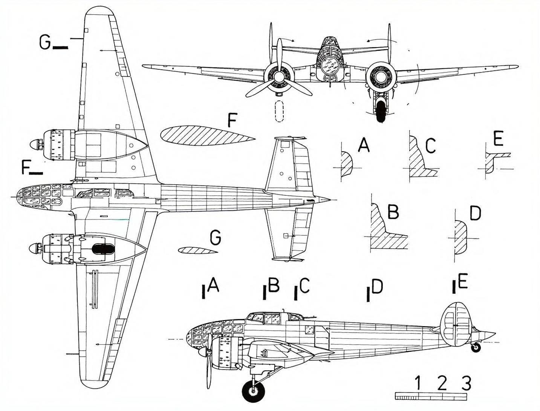 Пикирующий бомбардировщик пе-2