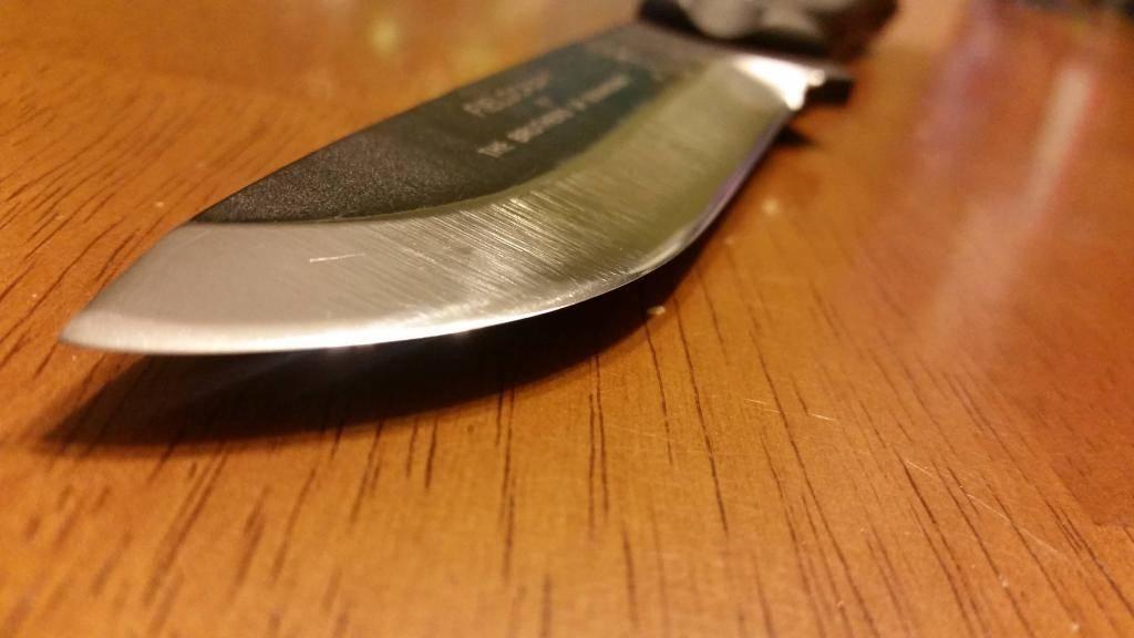 Как правильно точить охотничий нож и с каким углом?