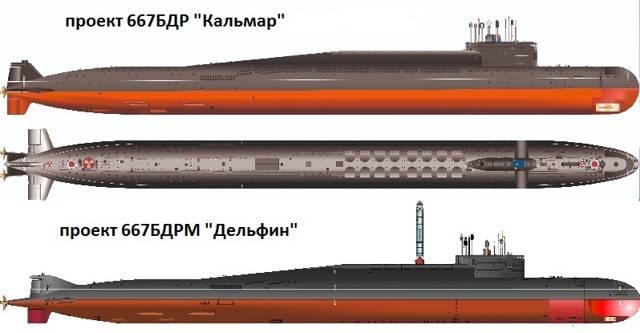 ПЛ «Дельфин» проекта 667а – первые среди первых