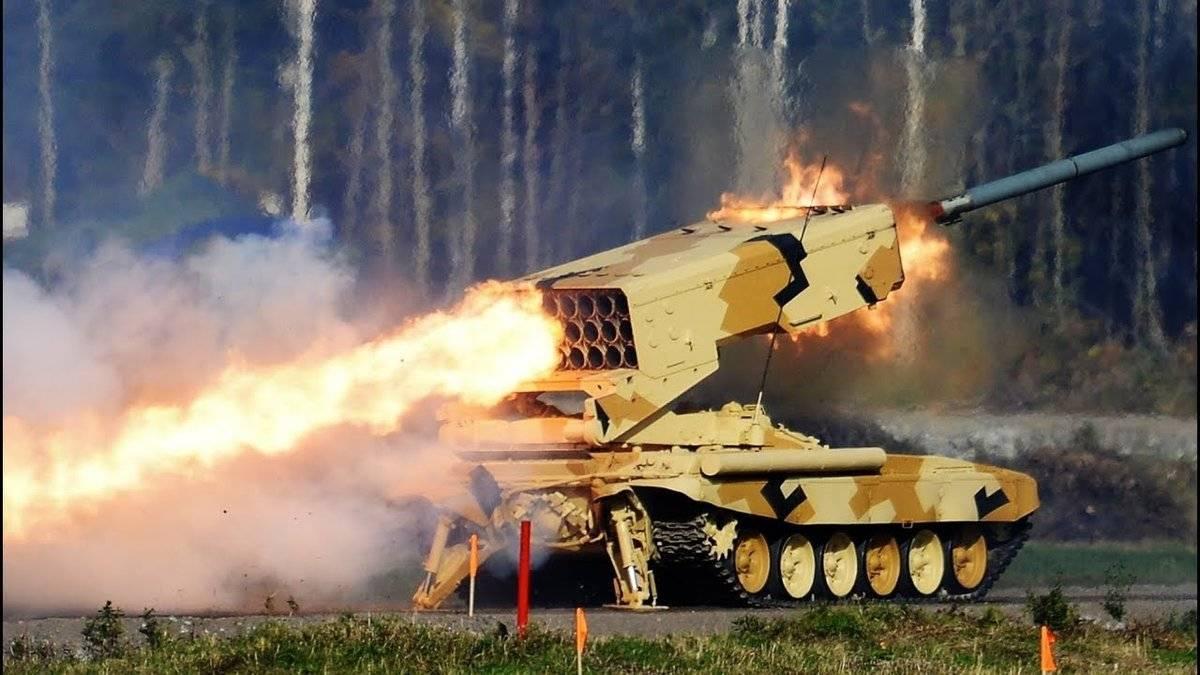 Буратино зажигает. огнемет «буратино» – золотой ключик от позиций противника как работает буратино и солнцепек