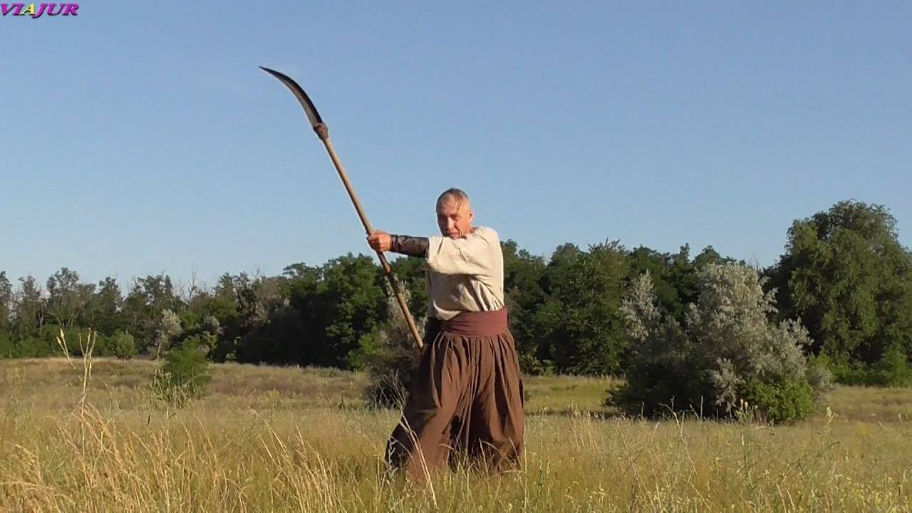 Коса (оружие) — википедия. что такое коса (оружие)