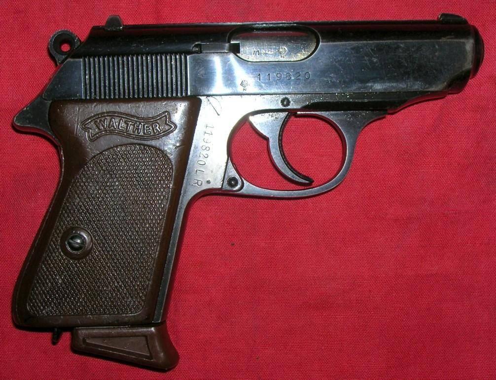 Walther ppk пистолет — характеристики, фото, ттх