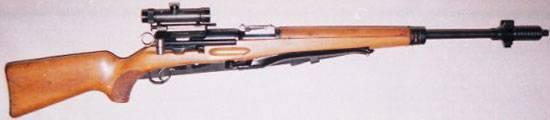 Снайперская винтовка Schmidt-Rubin ZfK55