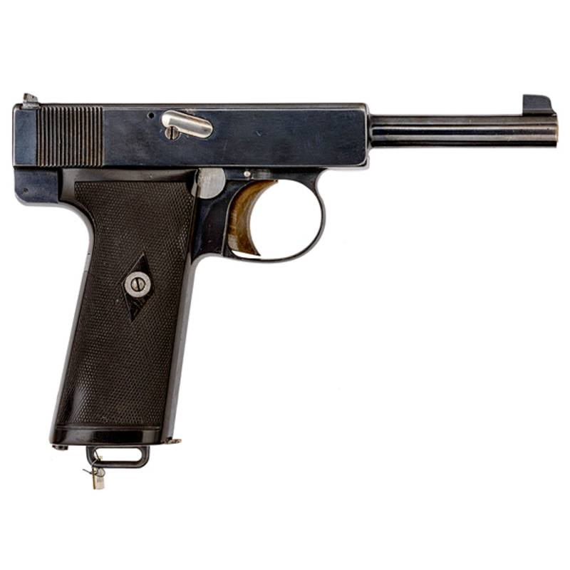Пистолет webley & scott m1912