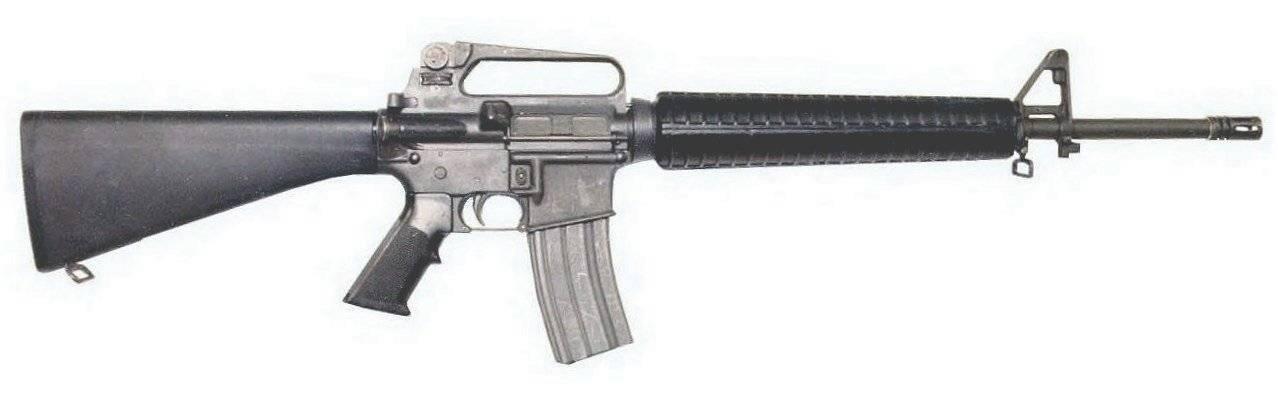 Чем американская винтовка м16 уступает автомату калашникова   русская семерка