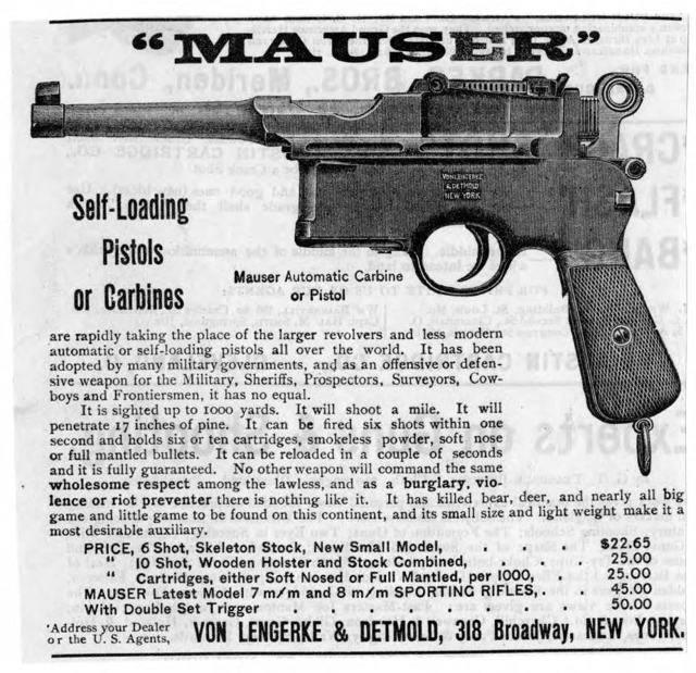Mauser model 1889 - mauser model 1889