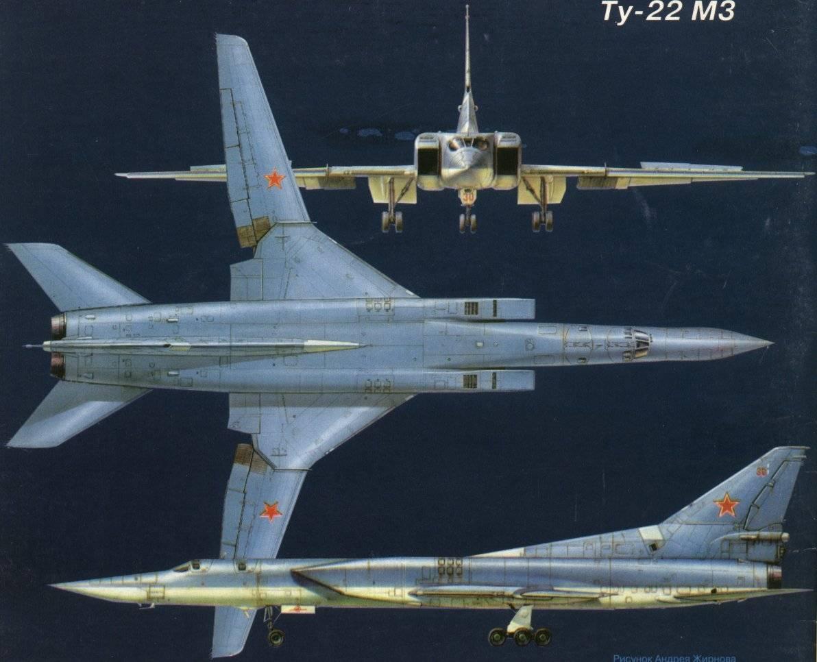 «убийца авианосцев» дальний бомбардировщик ту-22м3