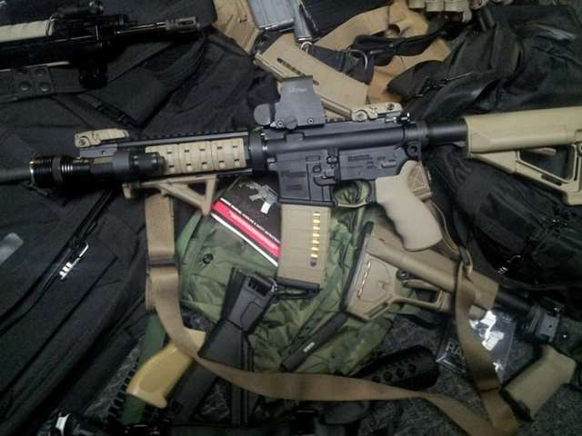 L1a1 самозарядного ружья - l1a1 self-loading rifle