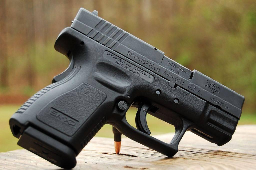Пистолет springfield armory xd sub-compact