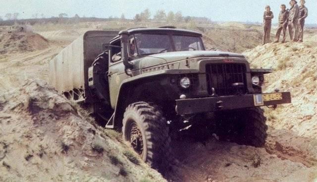 Урал 375 - советский грузовик повышенной проходимости