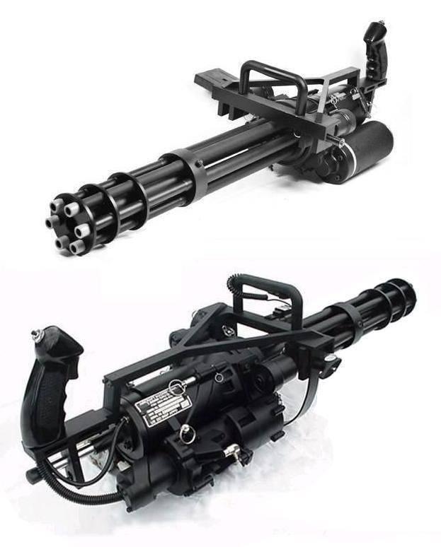 Многоствольный пулемет