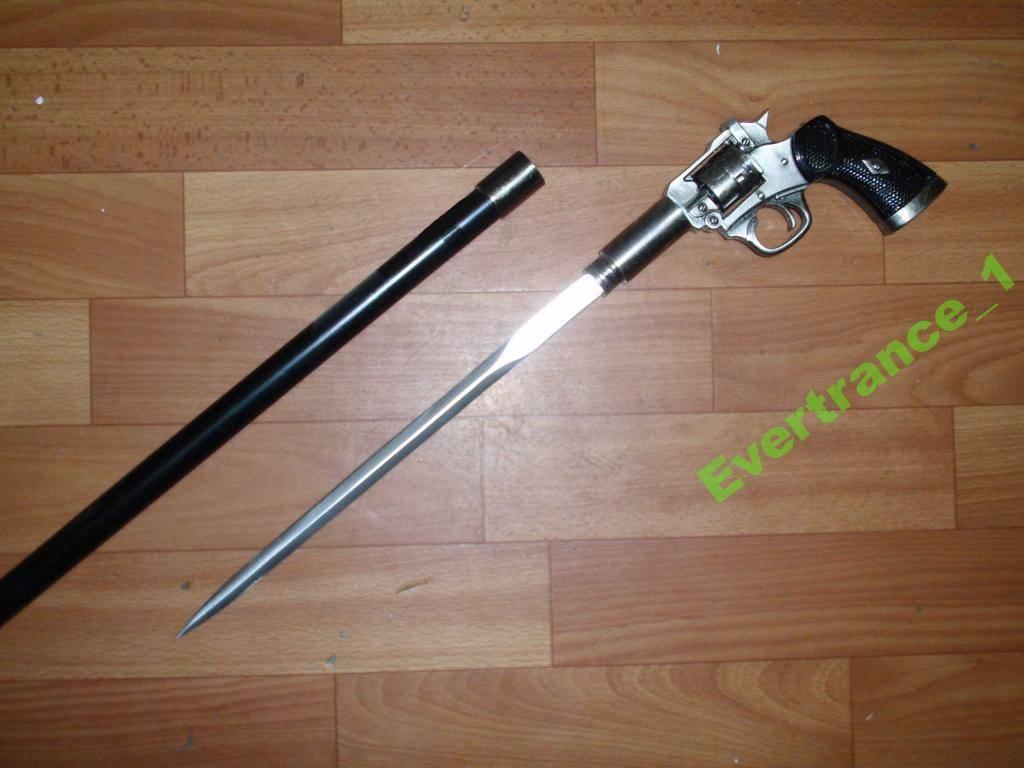 Стреляющие трости и зонты с клинком